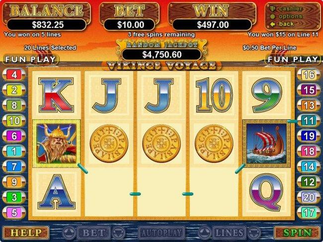 Free Slots 247 image of Viking's Voyage