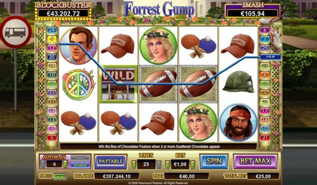 Forrest Gump by Free Slots 247