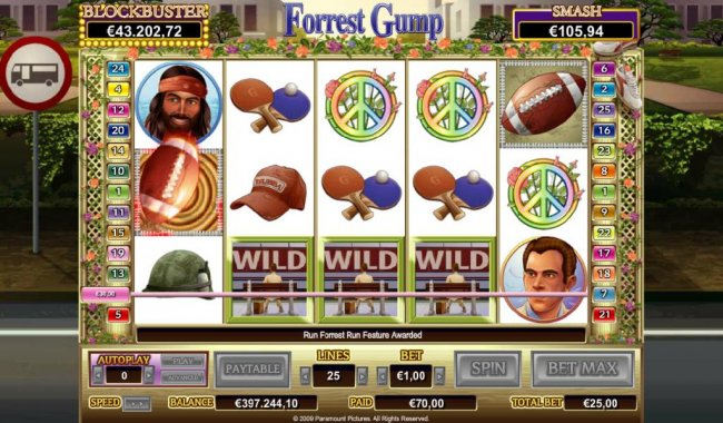 Free Slots 247 - Run Forest Run Feature Awarded
