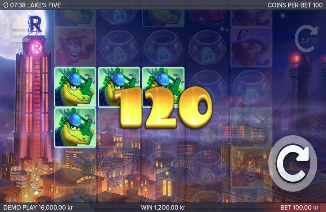 Free Slots 247 image of Lake's Five
