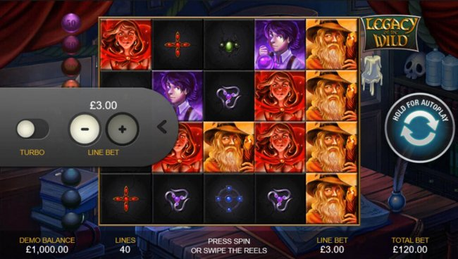 Click on the side menu button to adjust the coin value. - Free Slots 247
