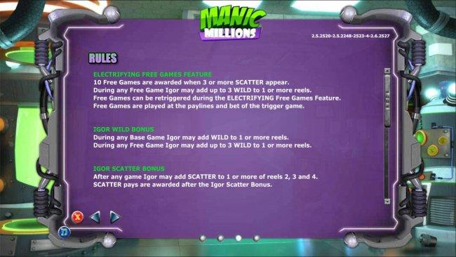 Spiele Manic Millions - Video Slots Online