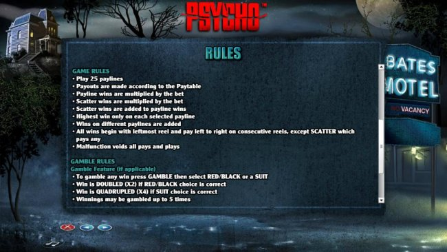 Psycho by Free Slots 247
