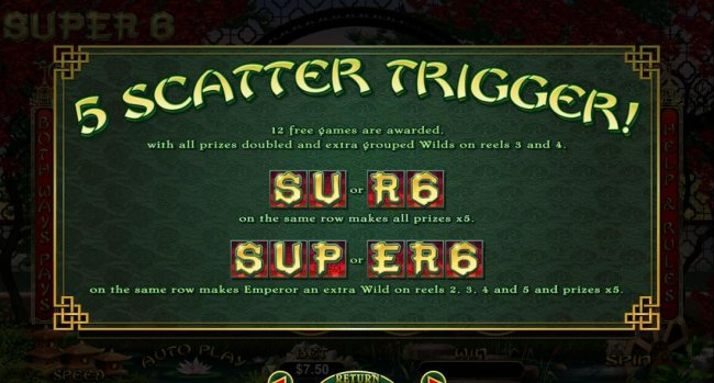 Super 6 by Free Slots 247