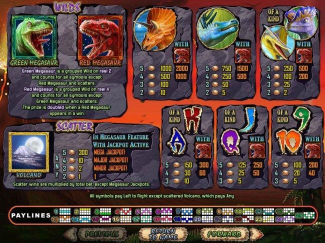 Megasaur screenshot