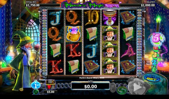 Merlin's Magic Respins by Free Slots 247