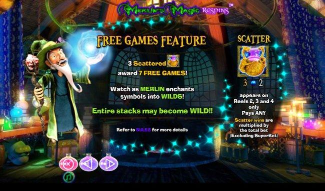 Free Slots 247 image of Merlin's Magic Respins