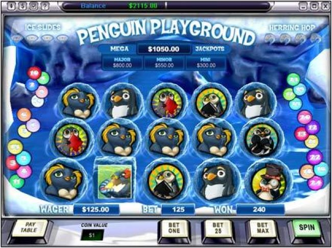 Free Slots 247 image of Penguin Playground