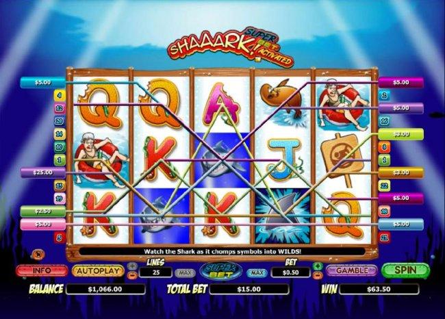 Free Slots 247 image of Shaaark!