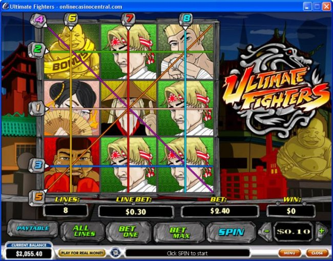 Images of Ultimate Fighters