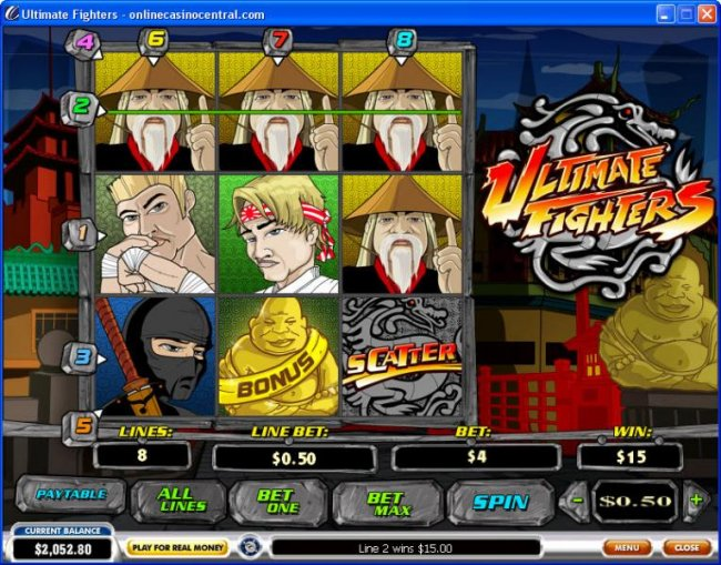 Free Slots 247 image of Ultimate Fighters