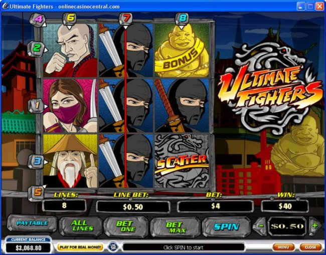 Ultimate Fighters by Free Slots 247