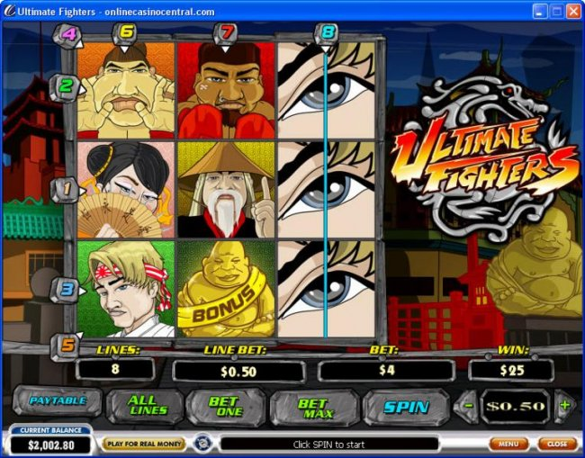 Ultimate Fighters screenshot