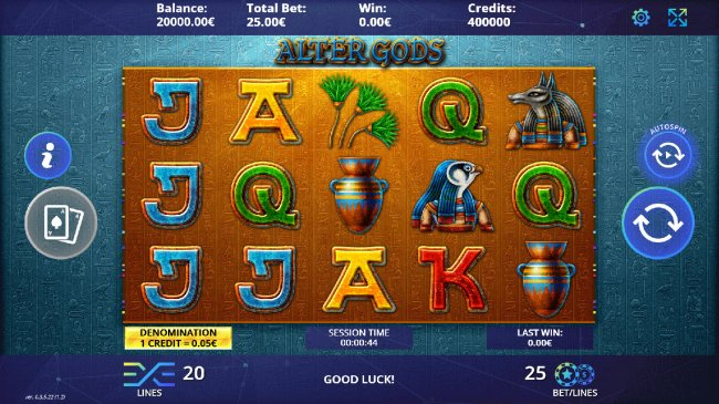 Free Slots 247 - Main Game Board