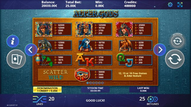Free Slots 247 image of Alter Gods