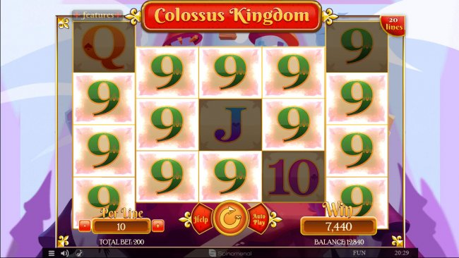 Multiple winning combinations leads to a big win - Free Slots 247