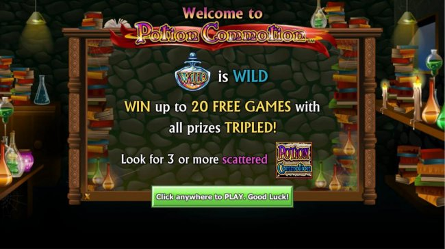 Potion Commotion by Free Slots 247
