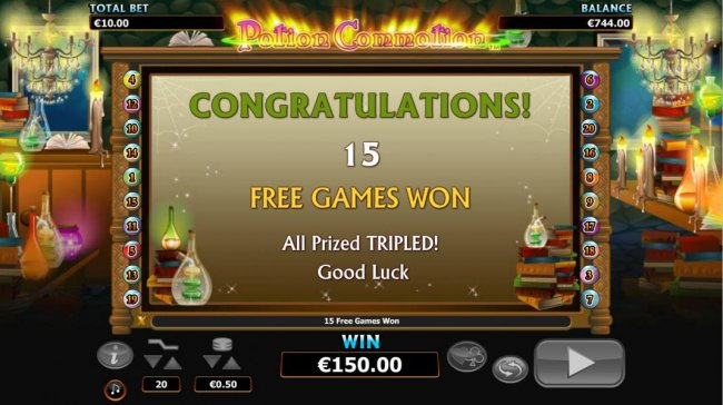 Free Slots 247 image of Potion Commotion