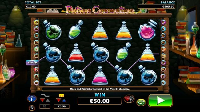 Free Slots 247 - four of a kind triggers a $50 payout