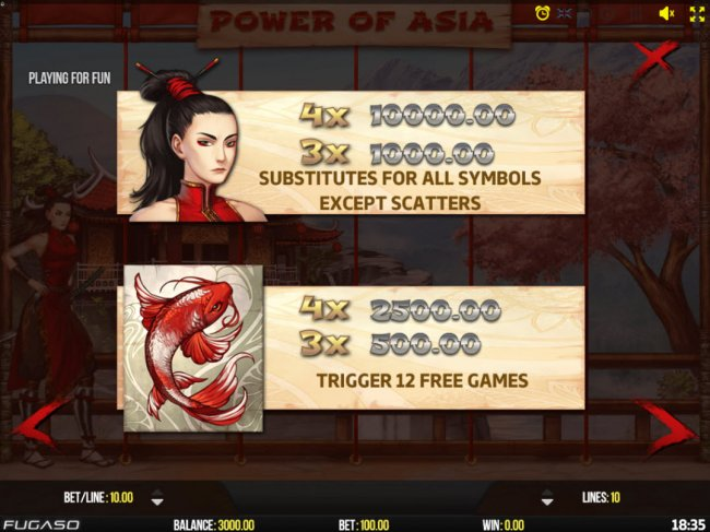 Power of Asia screenshot