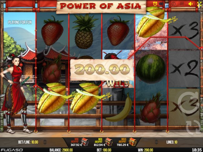 Power of Asia by Free Slots 247