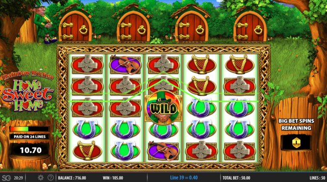 Rainbow Riches Home Sweet Home screenshot