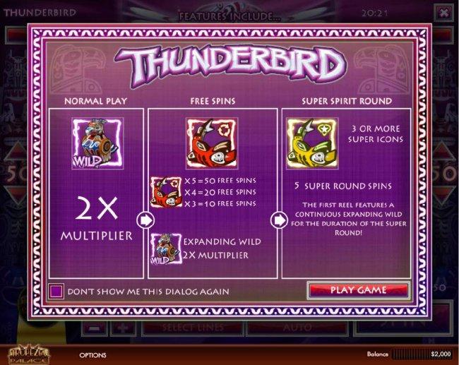 Images of Thunderbird