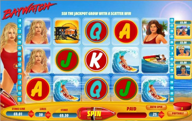 Baywatch by Free Slots 247