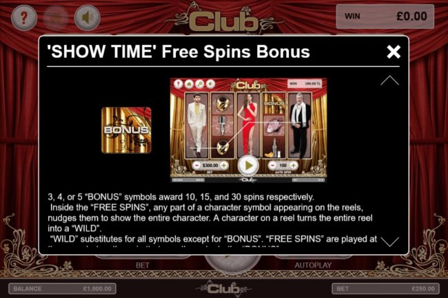 Show Time Free Spins Bonus Rules - Free Slots 247
