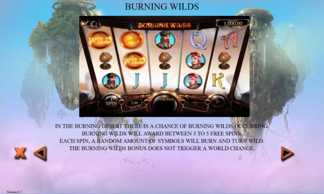 Burning Wilds Rules - Free Slots 247