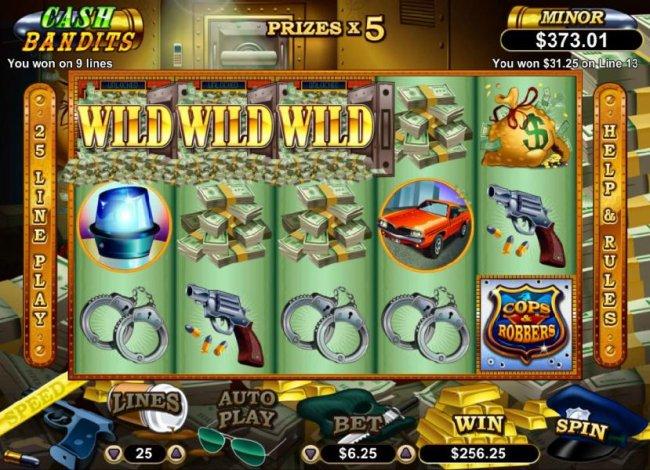 Free Slots 247 image of Cash Bandits