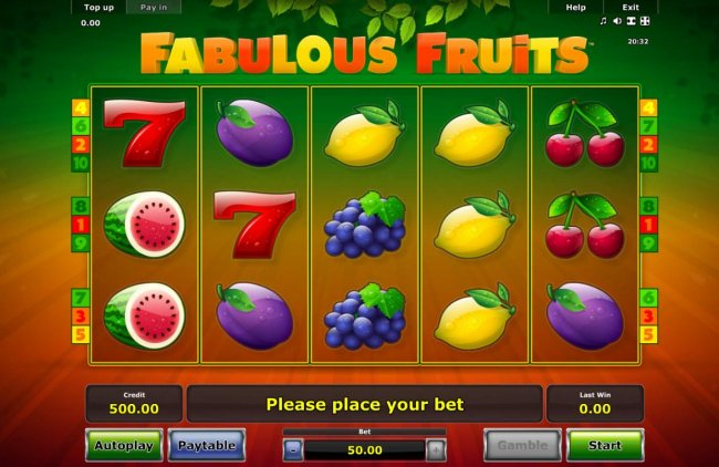 Free Slots 247 image of Fabulous Fruits