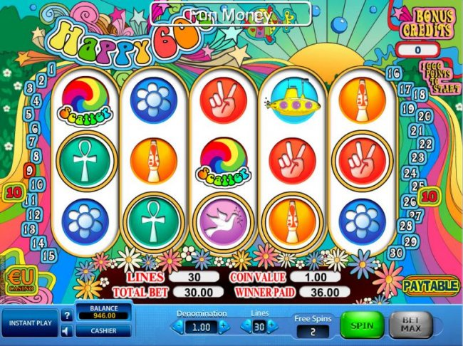 Happy 60's by Free Slots 247
