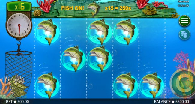 Awesome, you caught 8 fish by Free Slots 247