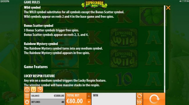 Leprechaun Hills by Free Slots 247