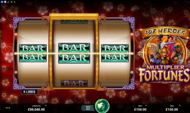 108 Heroes Multiplier Fortunes by Free Slots 247