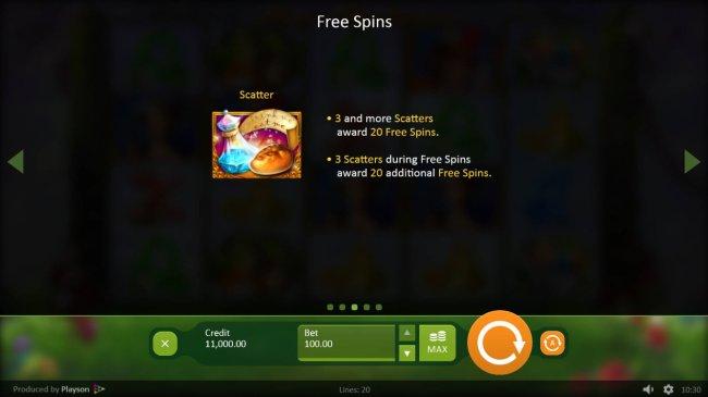 Free Slots 247 image of Alice in Wonderslots