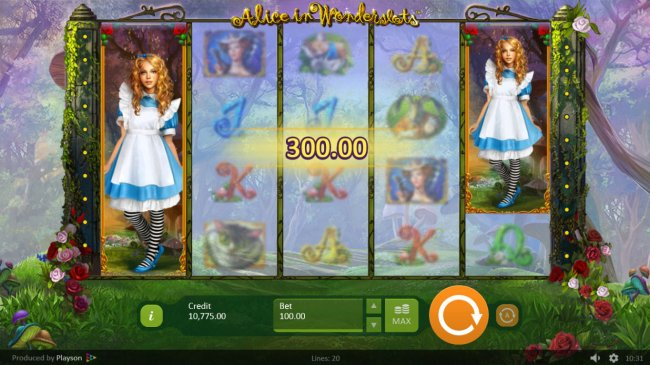 Alice in Wonderslots by Free Slots 247