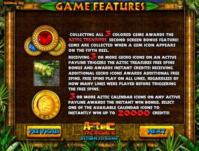 Aztec Treasure screenshot