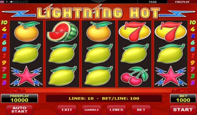 Lightning Hot screenshot