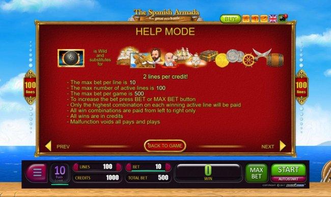 The Spanish Armada by Free Slots 247