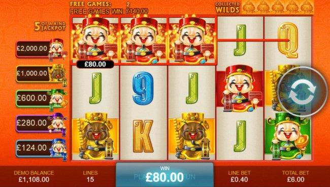 Spiele Wu Lu Cai Shen - Video Slots Online