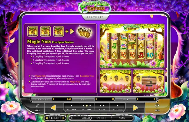 Free Slots 247 - Free Spins Feature Rules