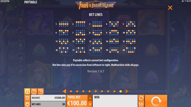 Free Slots 247 image of Ivan and the Immortal King