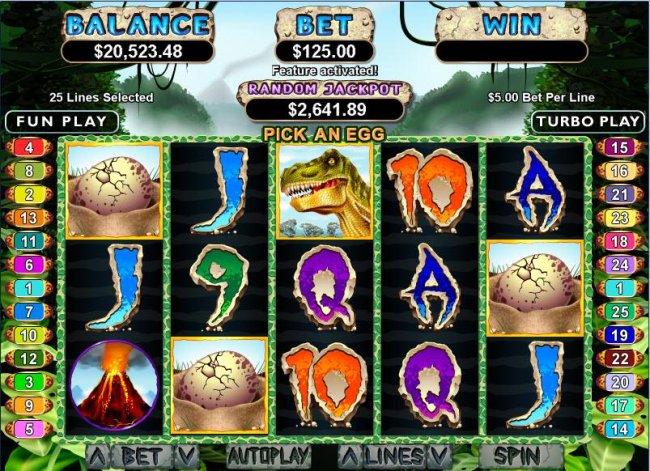 Free Slots 247 image of T-Rex
