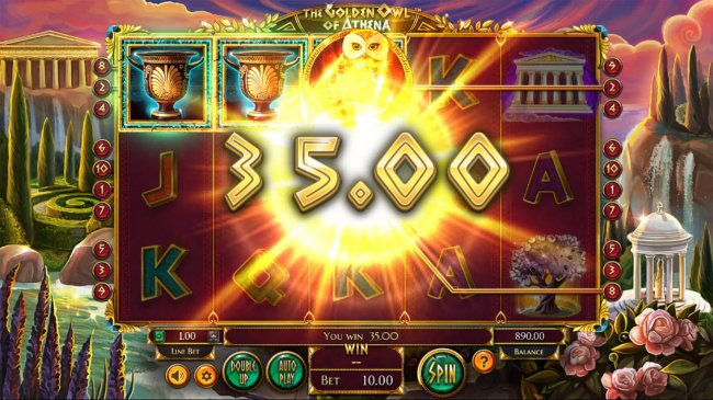 The Golden Owl of Athena by Free Slots 247