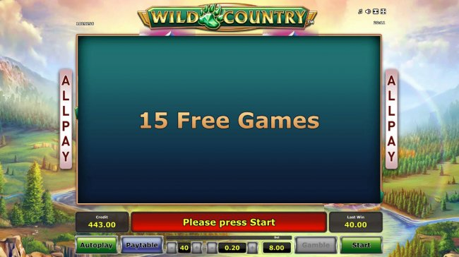 Wild Country by Free Slots 247
