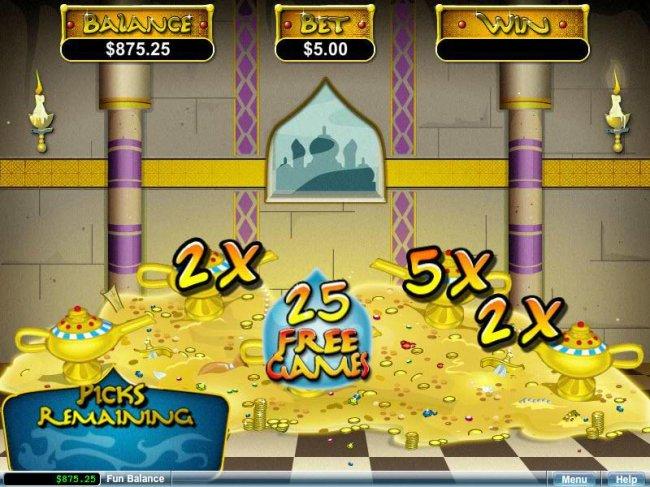 Free Slots 247 image of Aladdin's Wishes