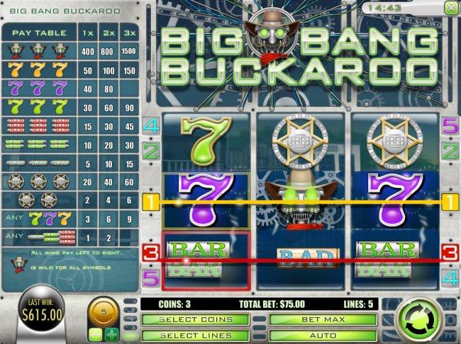 Free Slots 247 image of Big Bang Buckaroo
