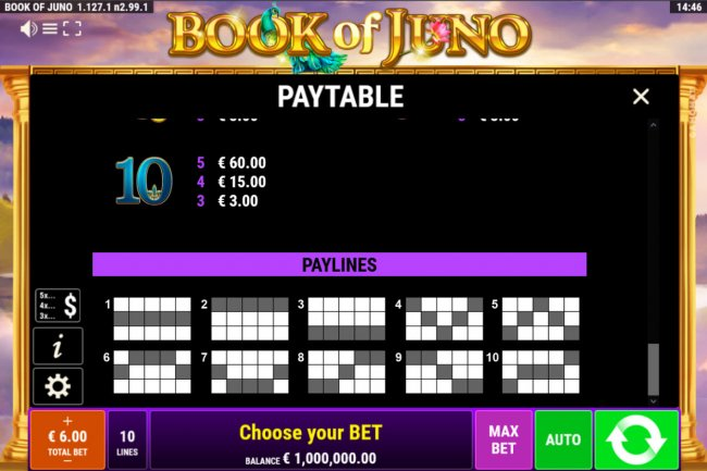 Book of Juno by Free Slots 247